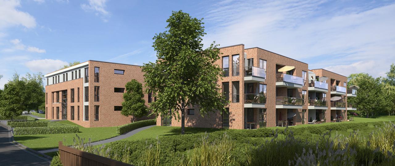 Neubau in Oststeinbek, Wohnung Oststeinbek, Wohnungssuche Oststeinbek, Mietwohnung Oststeinbek, Haus mieten Oststeinbek, Semmelhaack Oststeinbek